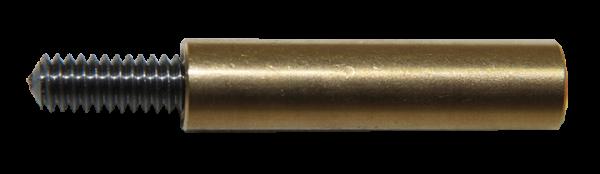 """Ballistol Gewinde-Adapter Hoppe's, Outer etc. (8-32 UNC Außengewinde auf 1/8"""" Außengewinde)"""