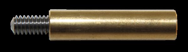 """Ballistol Gewinde-Dewey Adapter (UNF 8-36 Innengewinde auf 1/8"""" Außengewinde)"""