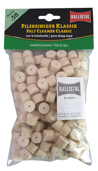 BALLISTOL Filzreiniger Klassik, Kal. .50