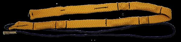 Ballistol FlexClean .50, Laufreinigungsschnur mit je 3 Andruckkugeln und Schwammkammern